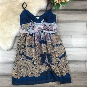 Anthropologie Staring At Stars Floral Dress 12